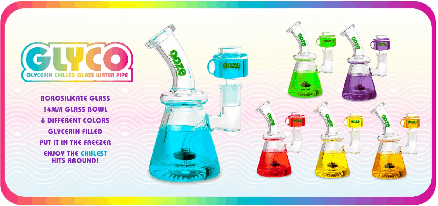 Ooze Bongs Coupons Glycerine Chilled Water Bottle