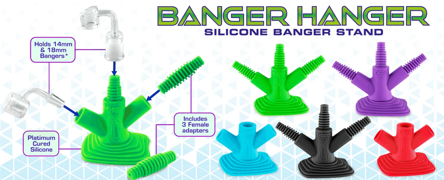Ooze Bongs Coupons Silicone Banger Stand