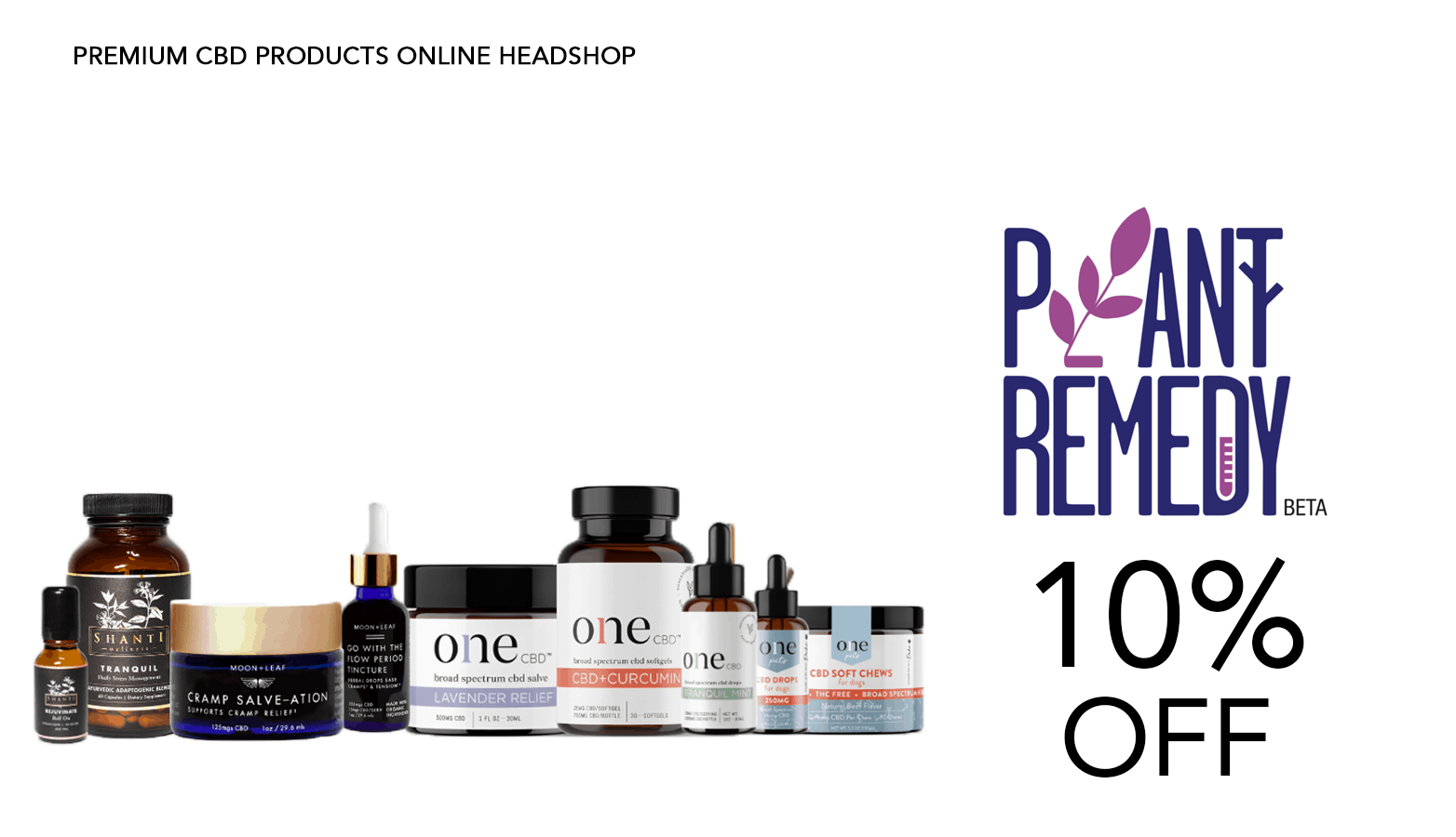 Plant Remedy CBD Coupon Code Discount Website