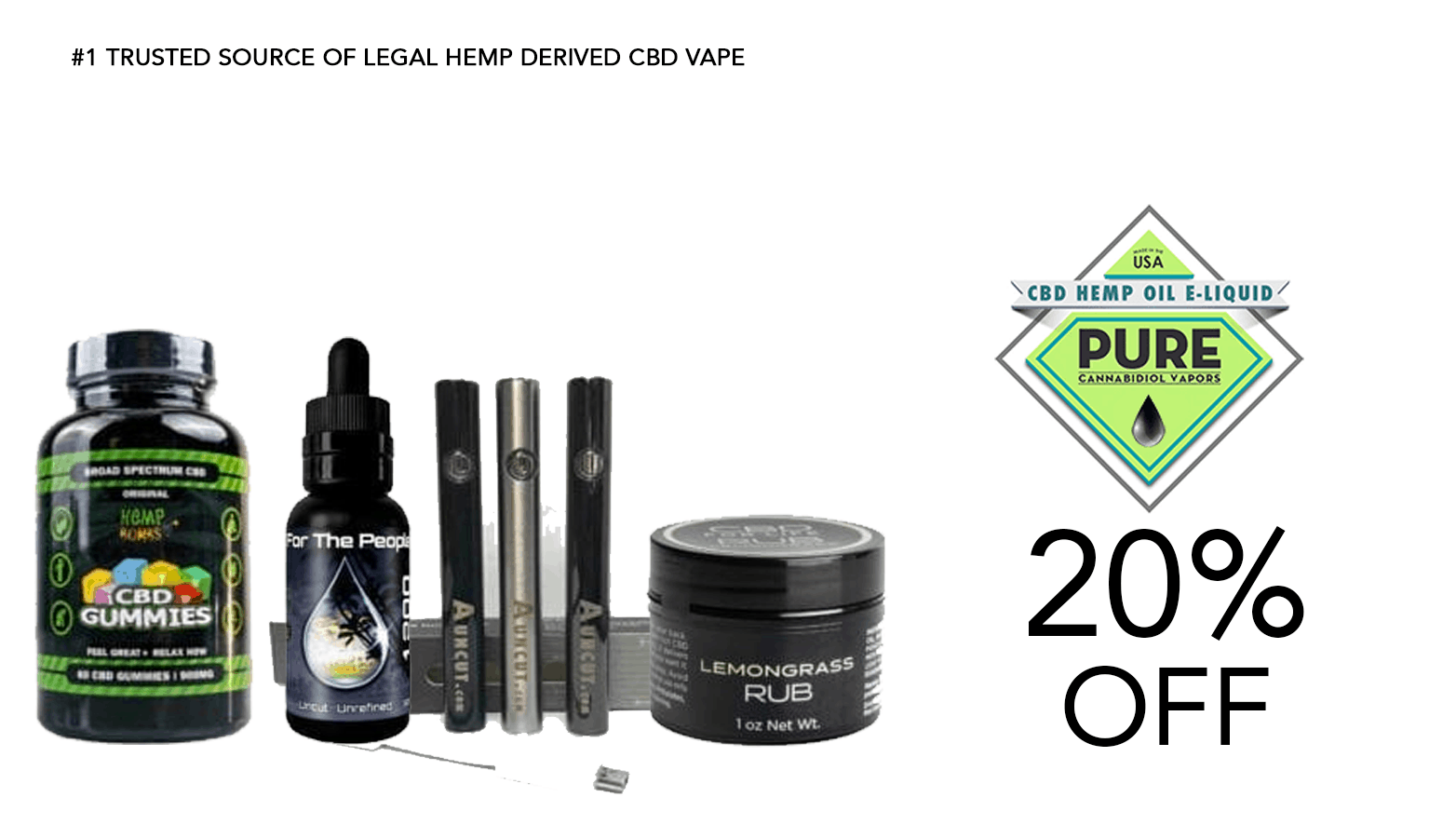 Pure CBD Vapors Coupon Code Offer Website