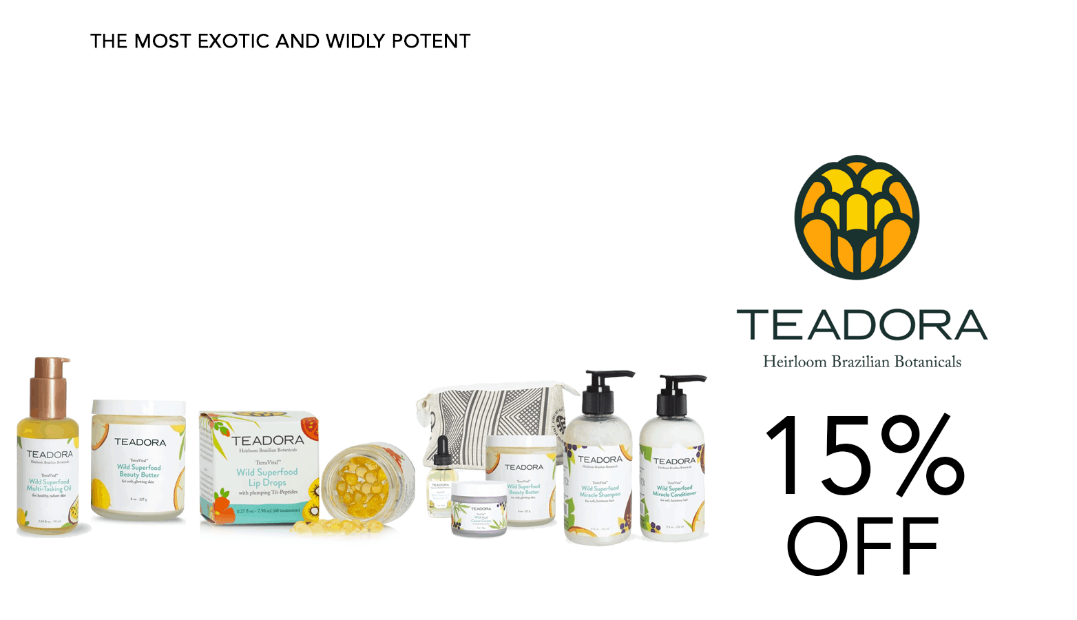 TEADORA CBD Coupon Code Promo Website