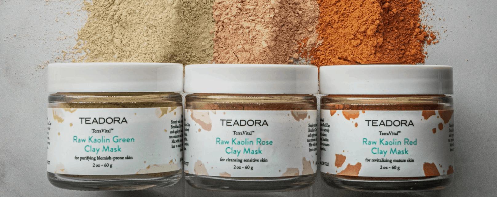 Brazilian Kaolin Clay By TEADORA CBD