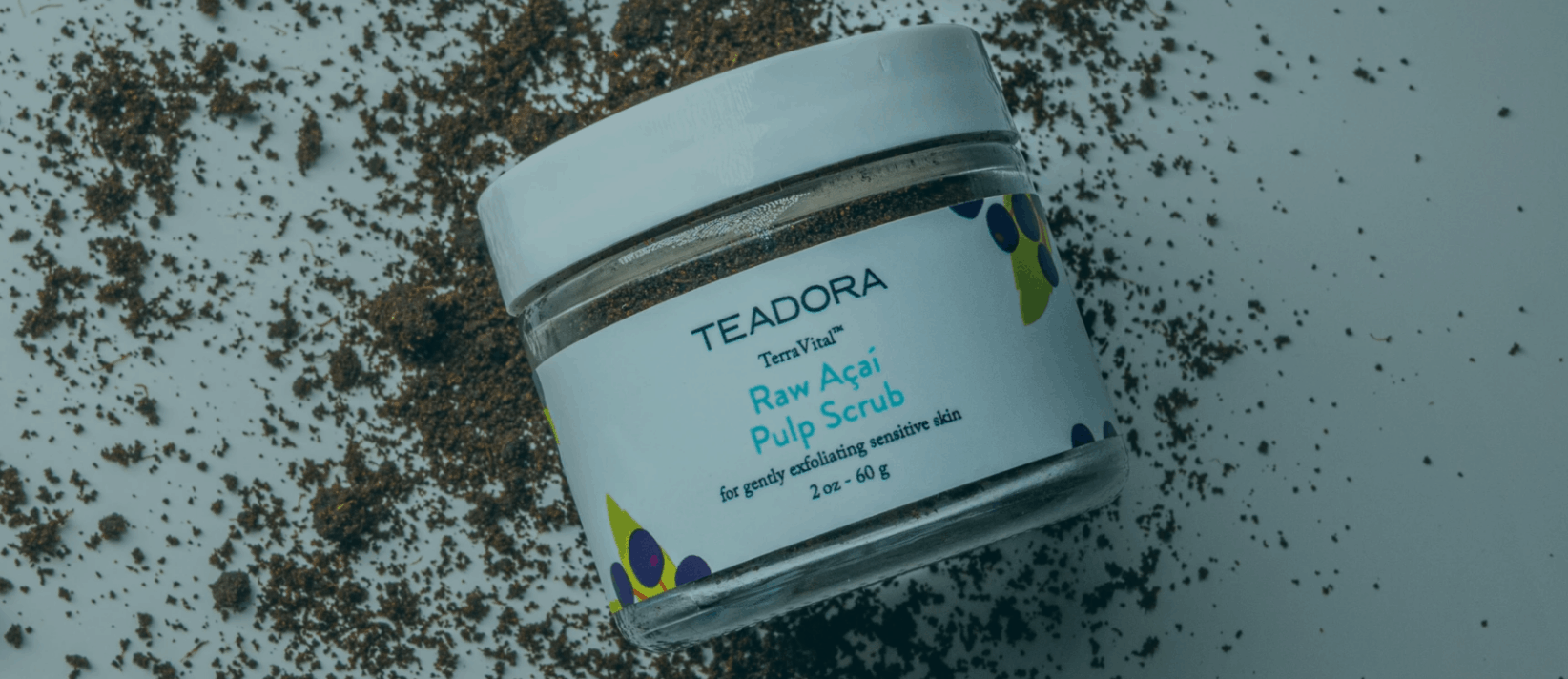 ACAI Facial Scrub By TEADORA CBD