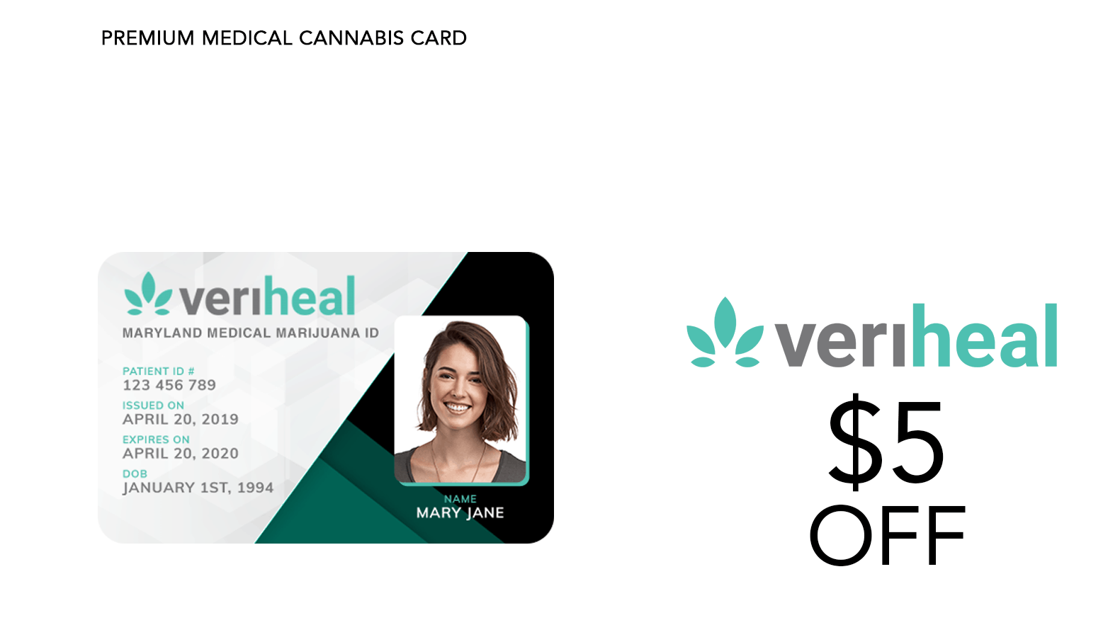 Veriheal Cannabis Doctors Coupon Code Promo Discount