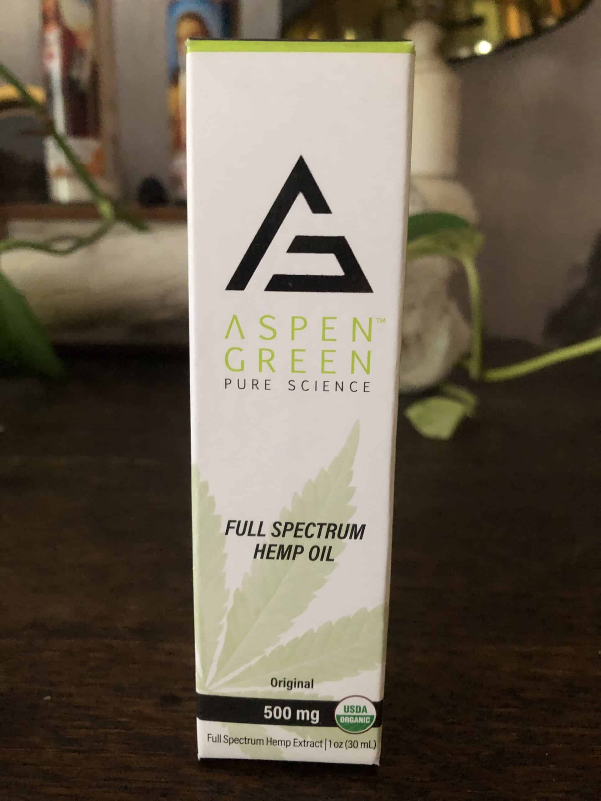Aspen Green Full Spectrum CBD Oil - 500 MG