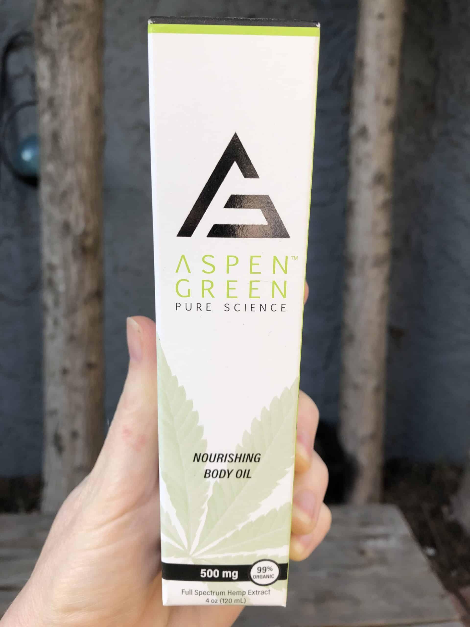 Aspen Green Nourishing Body Oil