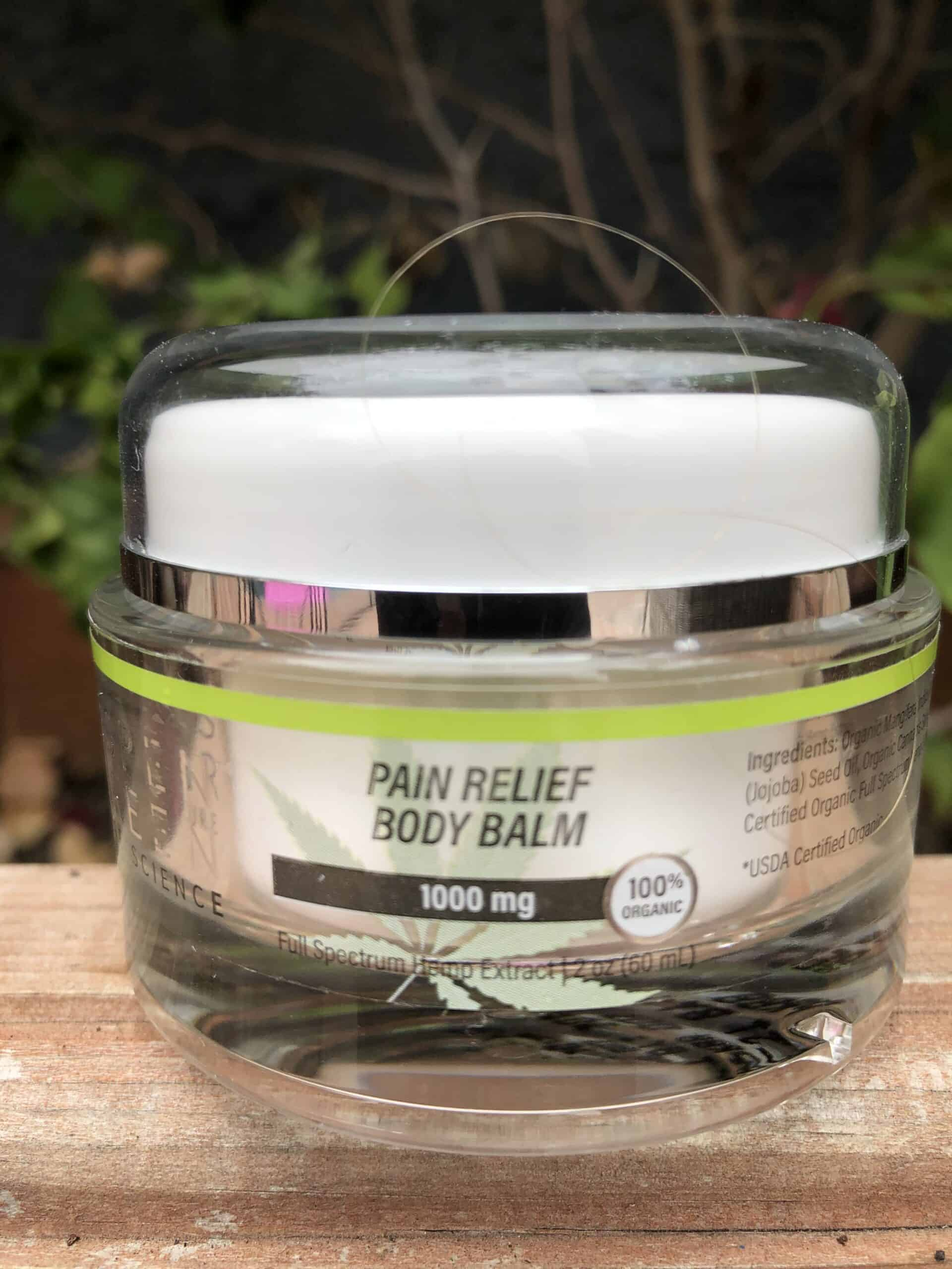aspen green pain relief body balm save on cannabis beauty shot