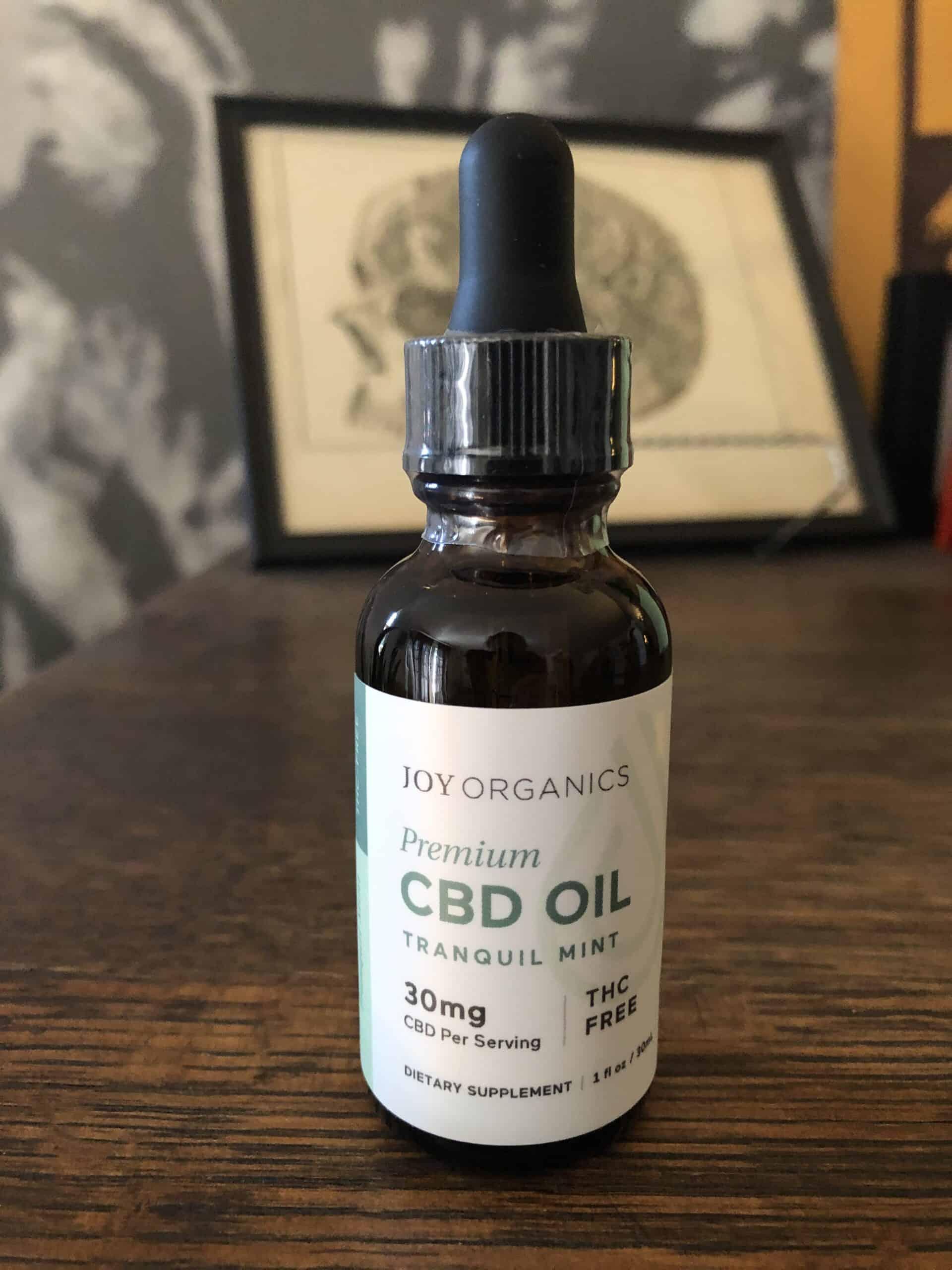 joy organics cbd oil tranquil mint 30 mg save on cannabis beauty shot