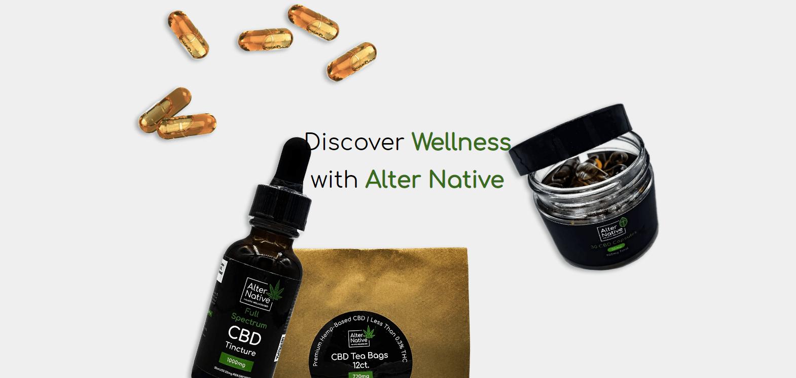 AlterNative CBD Coupons Discover Wellness