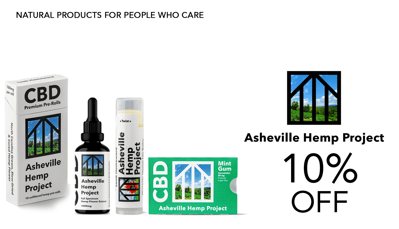 Asheville Hemp Project CBD Coupon Code Offer Website