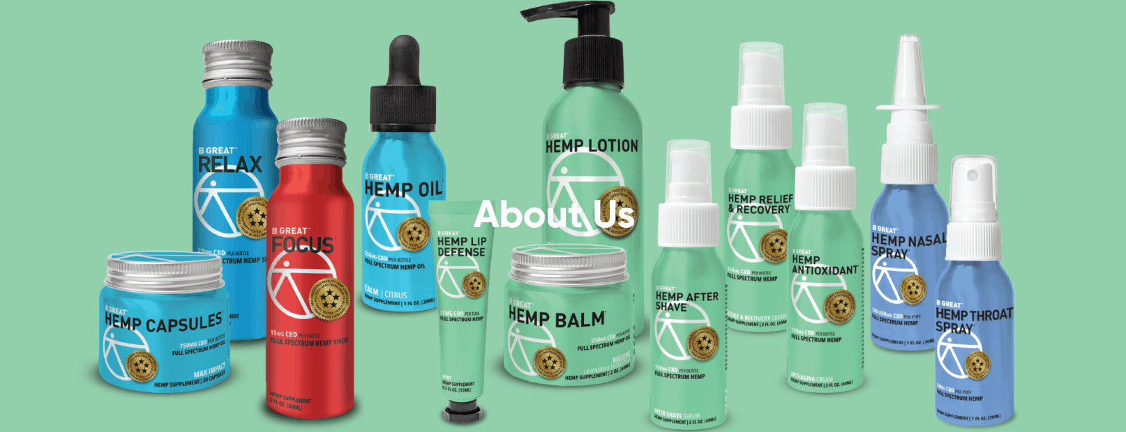 B Great CBD Coupons About Us