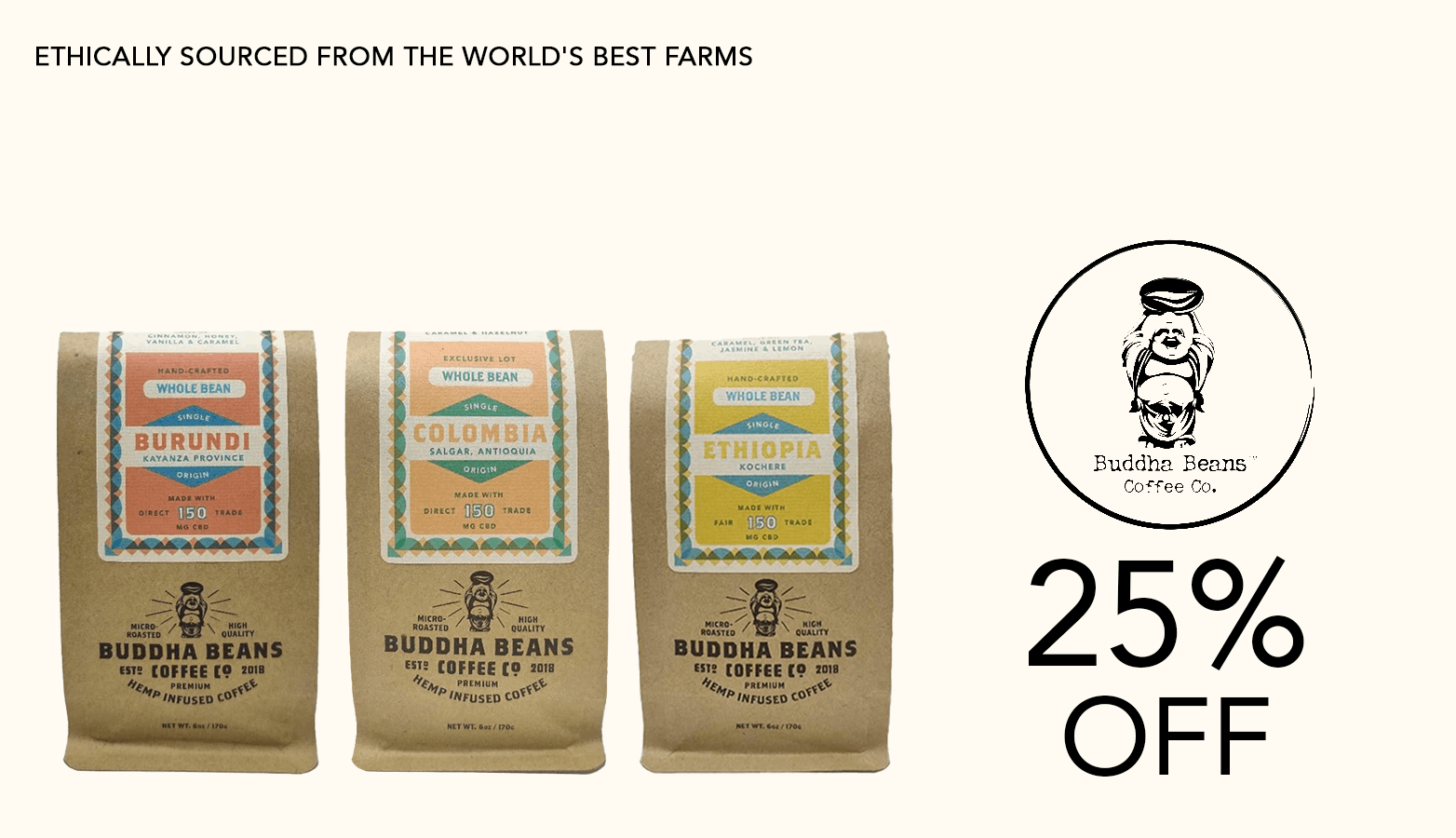 Buddha Beans Coffee Offer Website