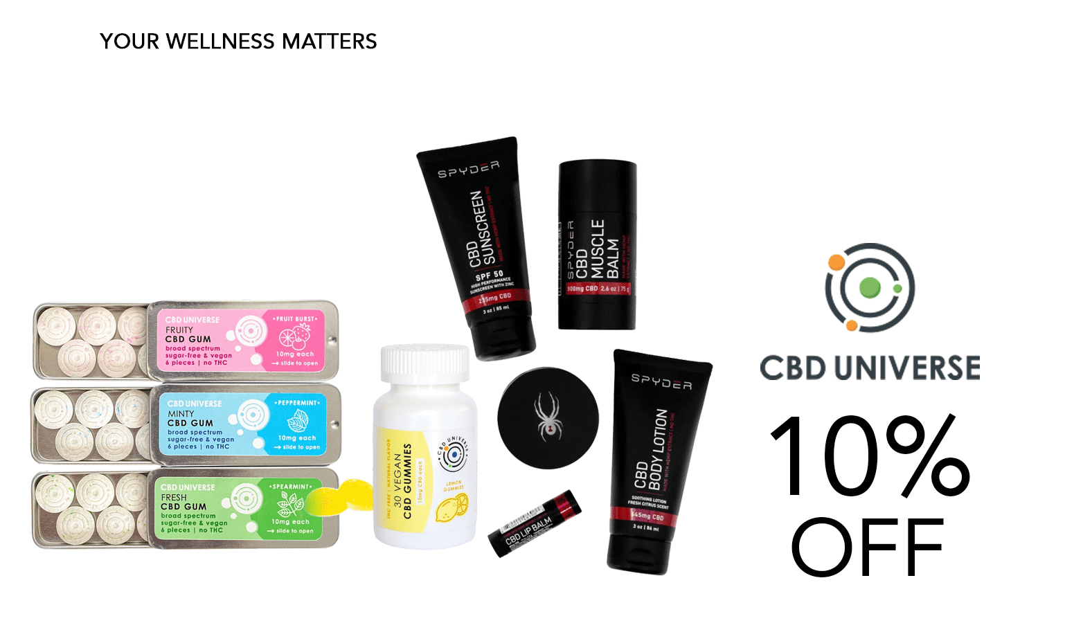 CBD Universe Coupons Offer Website
