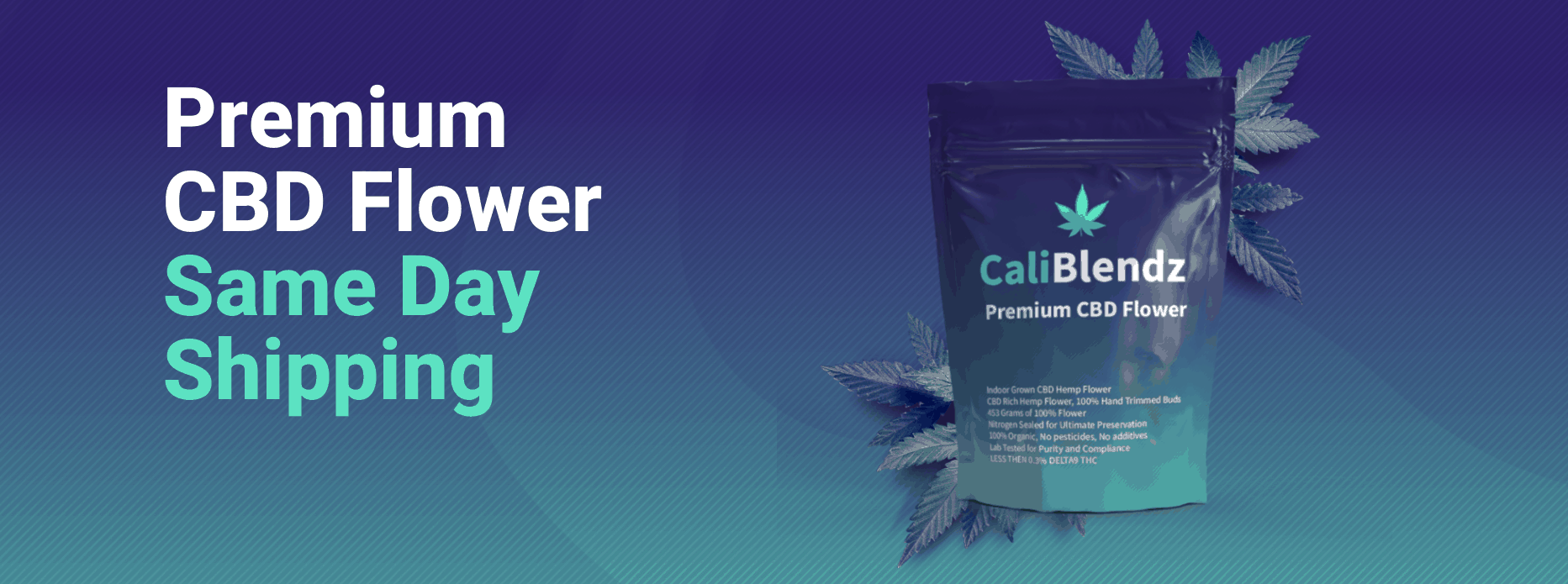 CaliBlendz CBD Coupon Code Premium Flower