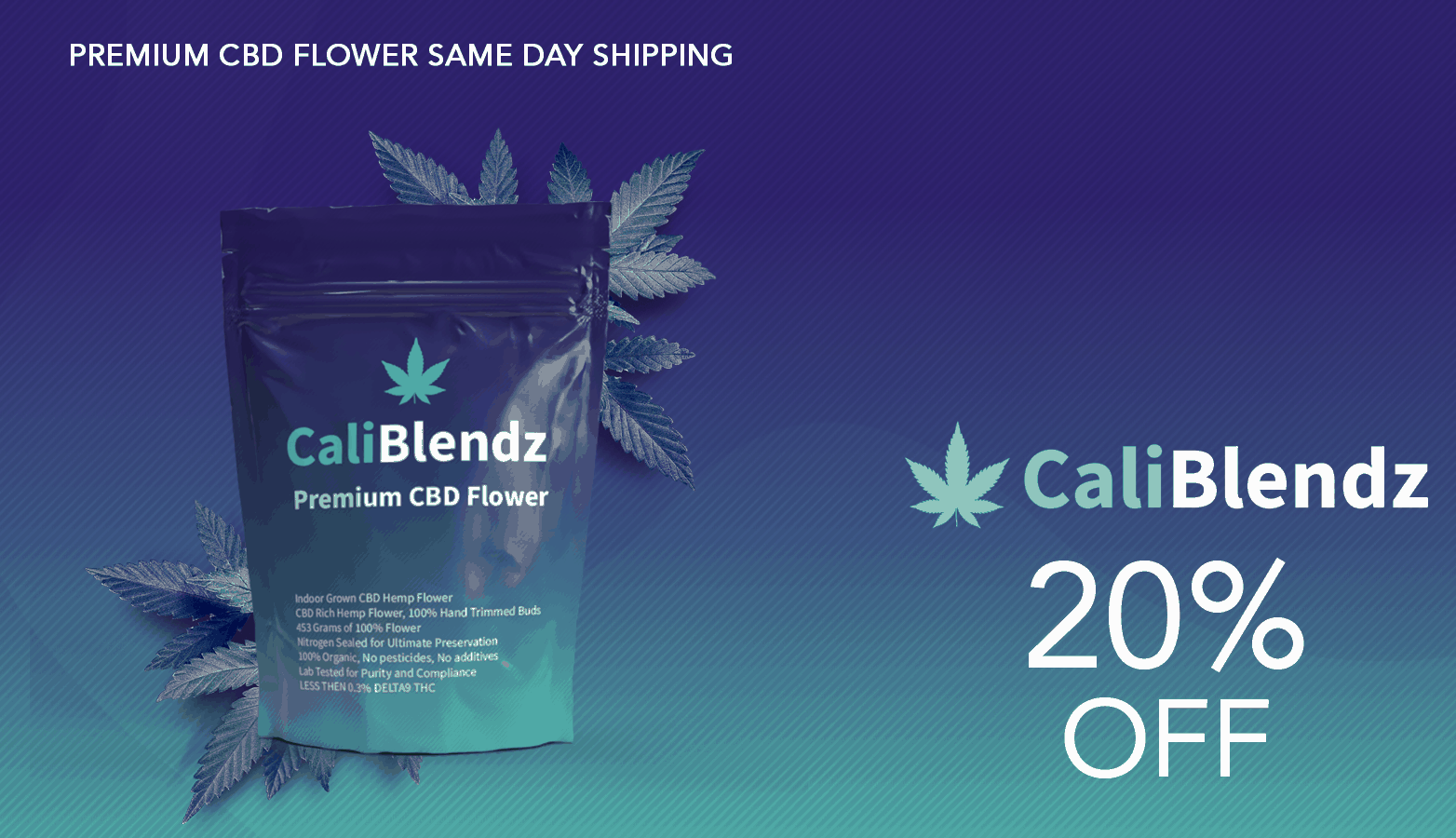 CaliBlendz CBD Coupon Code Offer Website