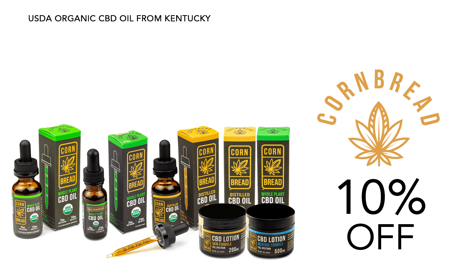 Cornbread Hemp CBD Coupon Code Discount