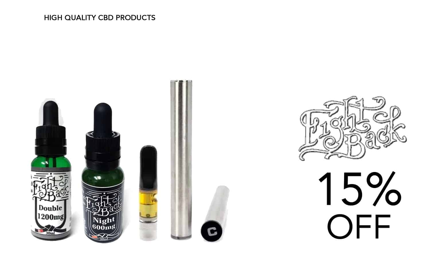 Fightback CBD Coupon Code Offer Website