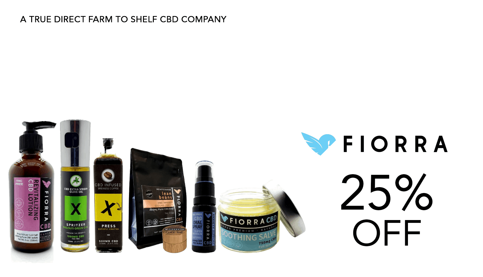 Fiorra CBD Coupon Code Offer Website
