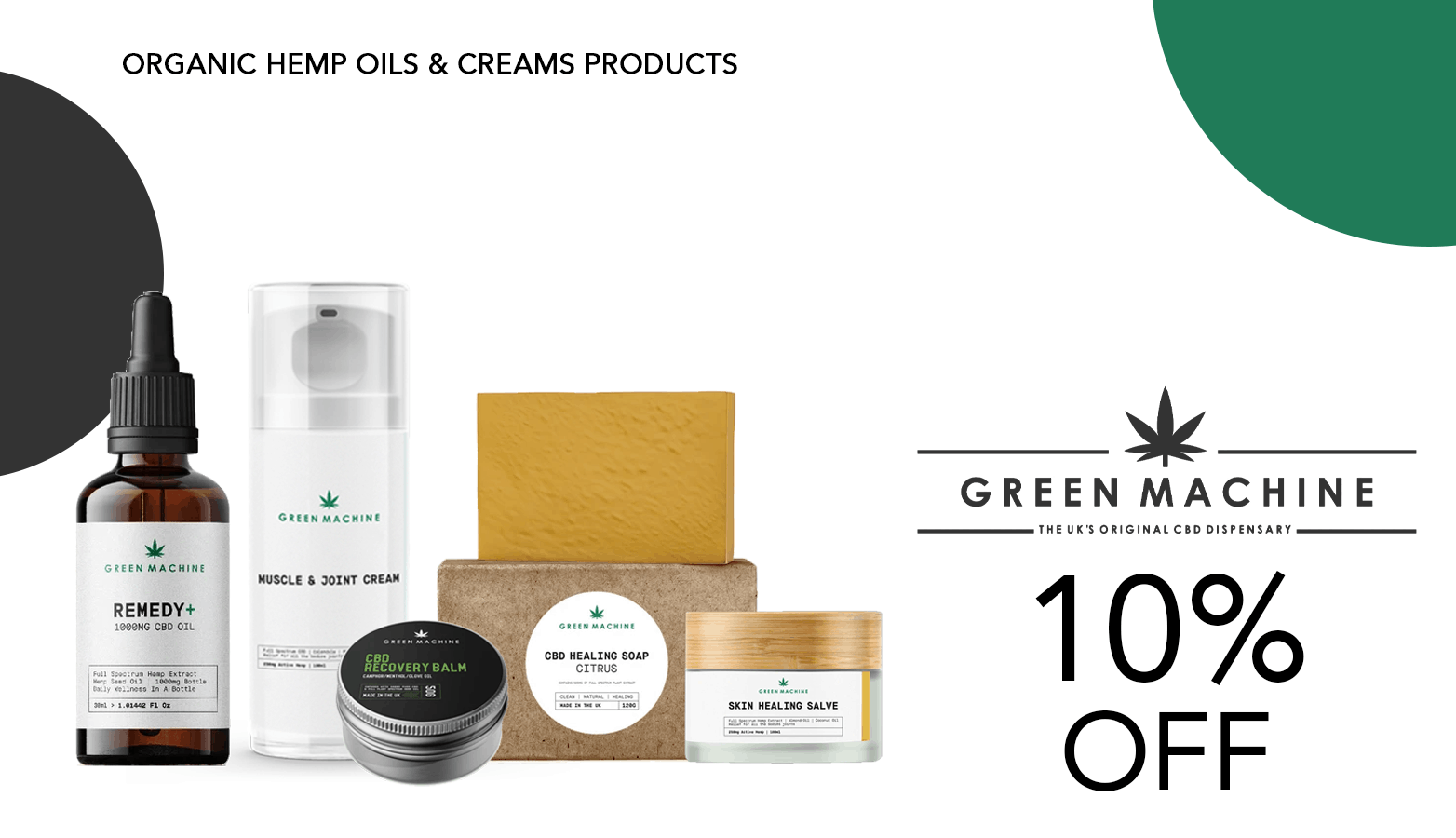 Green Machine CBD Coupon Code Offer Website