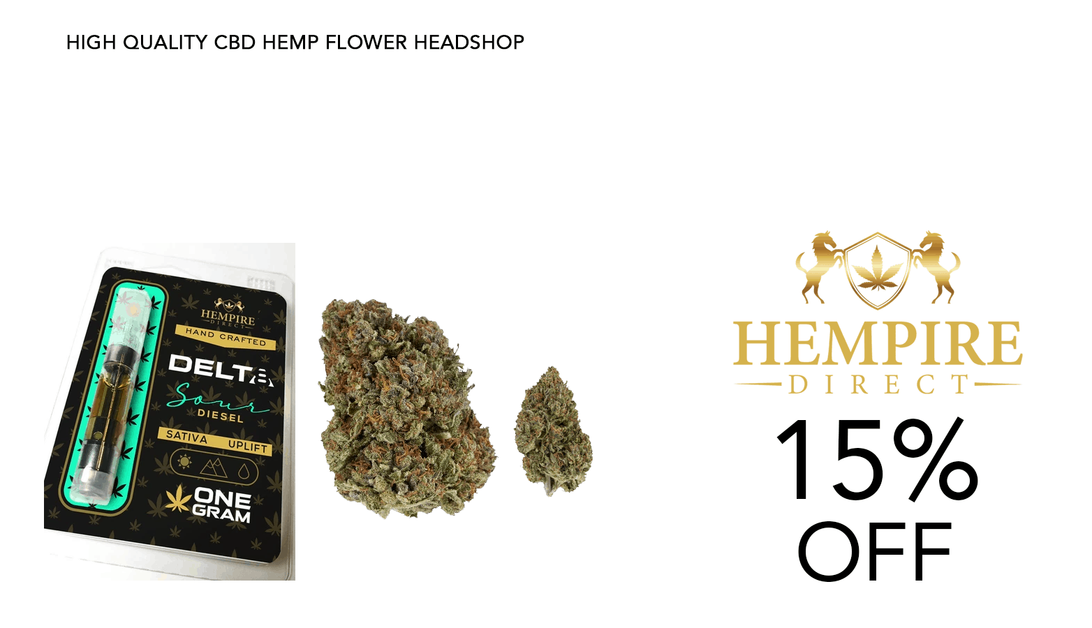 Hempire Direct CBD Coupon Code 15 Percent Off Discount