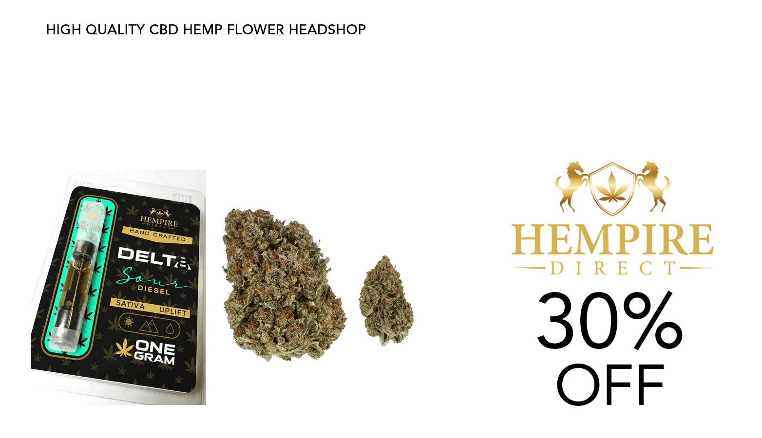 Hempire Direct CBD Coupon Code 30 Percent Off Discount