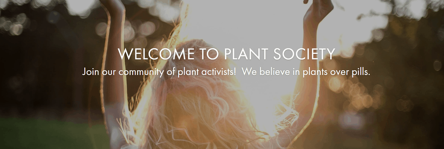 Plant Society Coupons You're Welcome