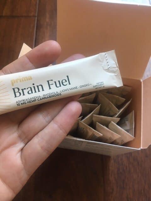 Prima Botanical Brain Fuel Elixir 10mg CBD Save On Cannabis About