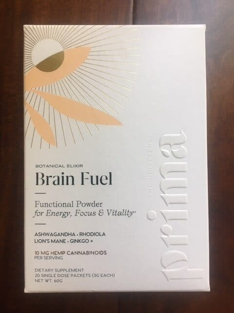 Prima's Botanical Brain Fuel Elixir