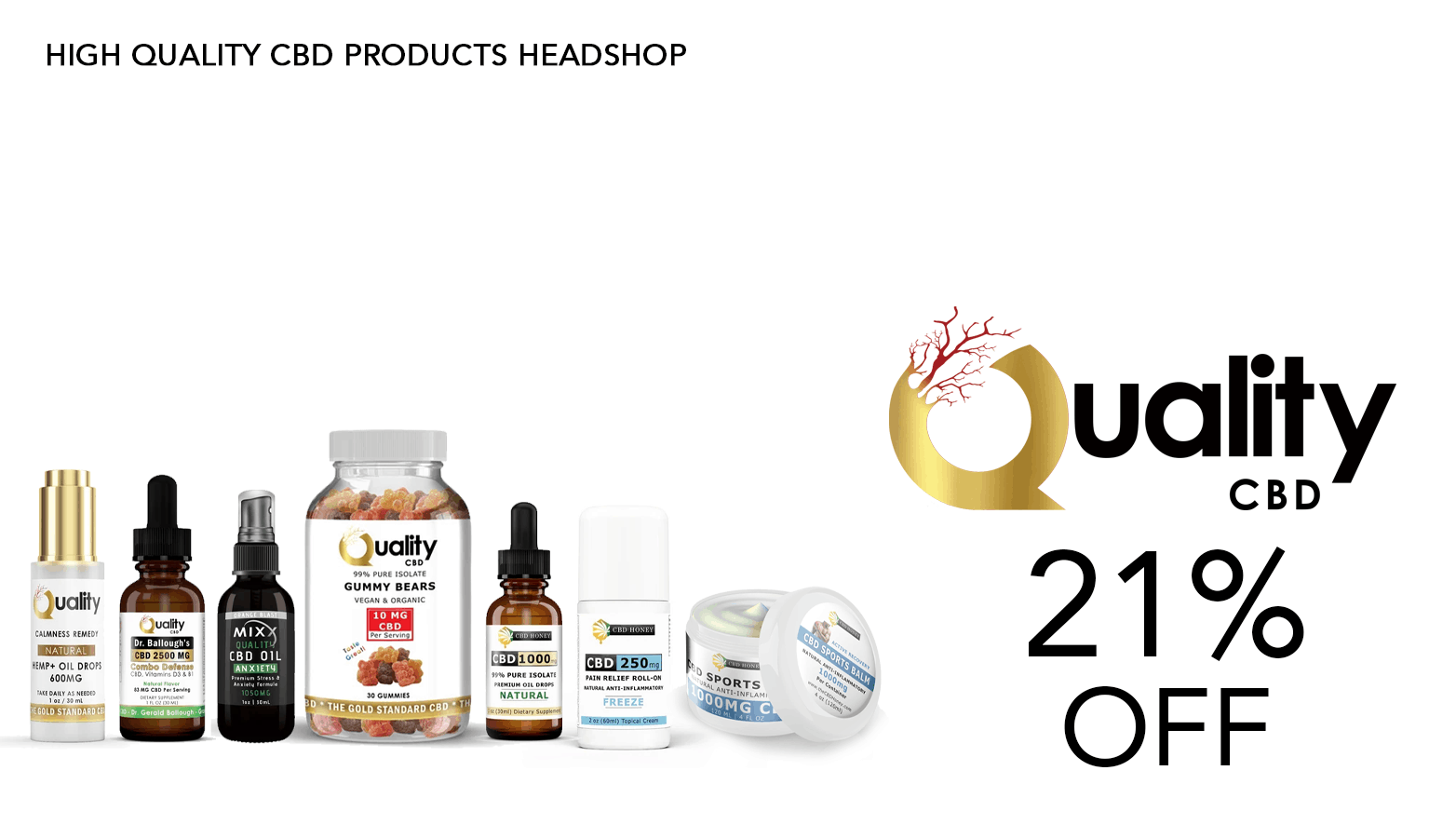 Quality CBD Coupon Code Offer Website