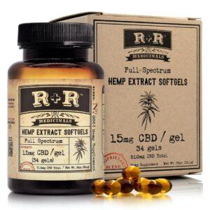 R+R Medicinals CBD Coupon R+R Medicinals CBD Softgels