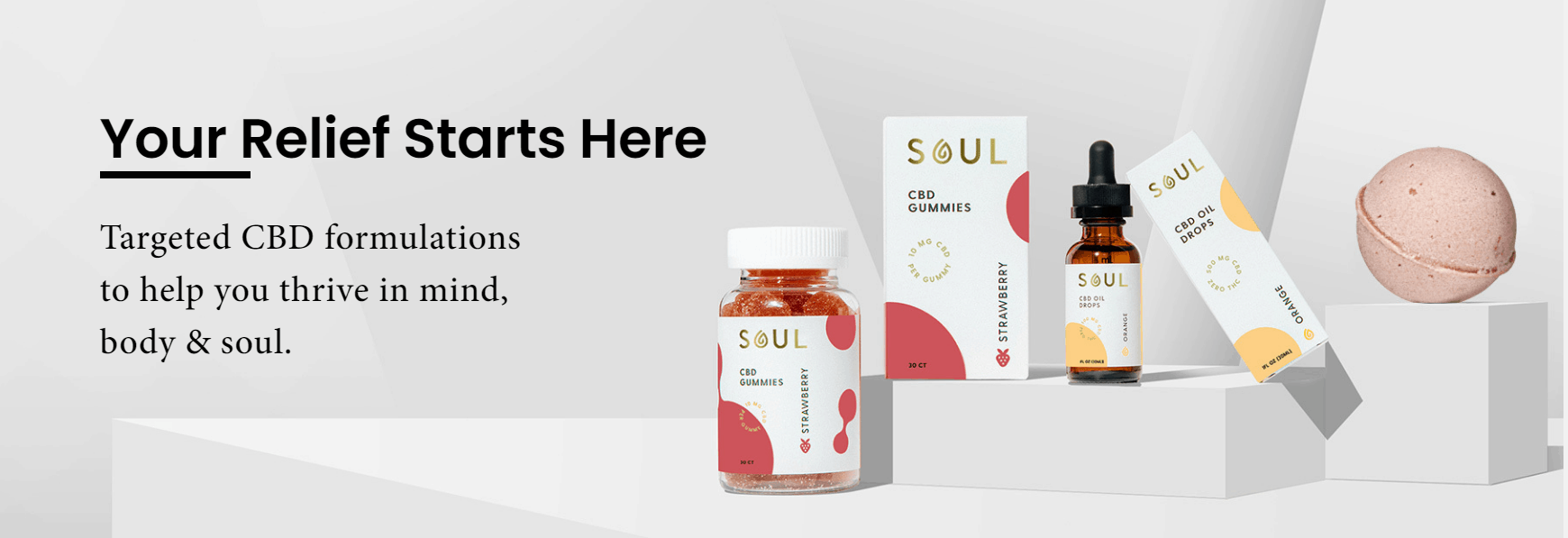 Soul CBD Coupons Your Relief Starts Here