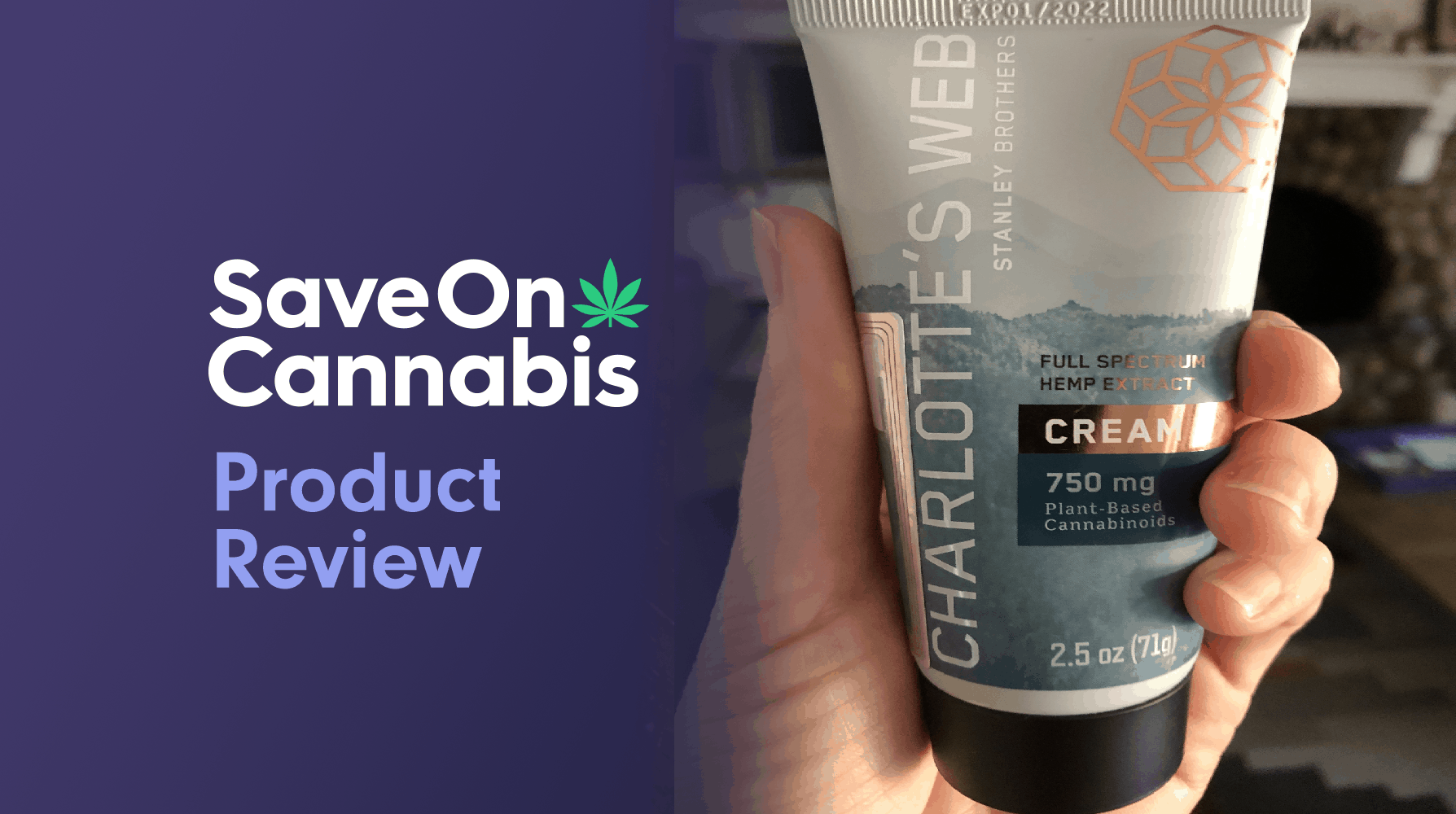 charlotte's web cream save on cannabis review website