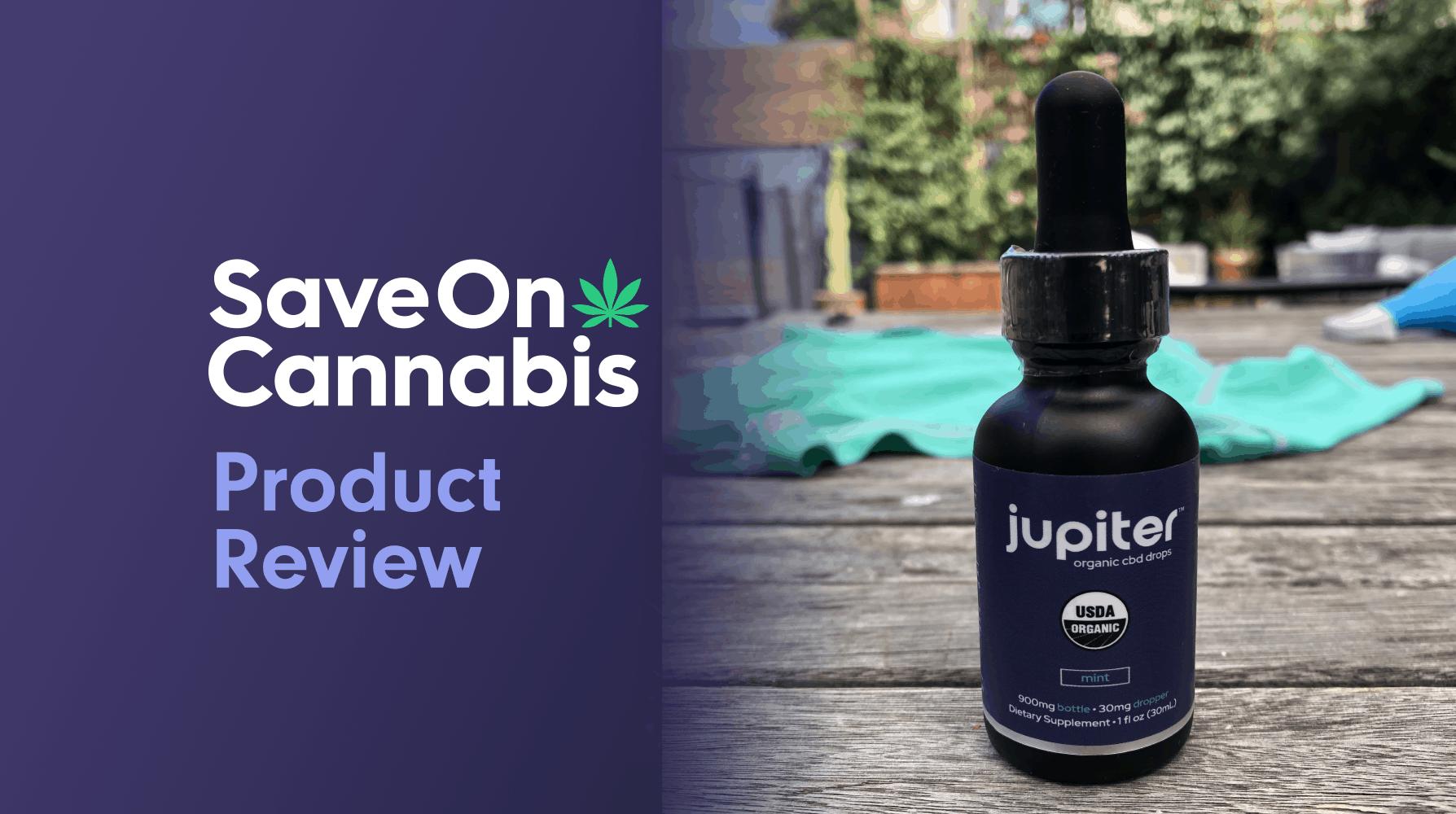 jupiter organic cbd drops mint 900 mg save on cannabis website