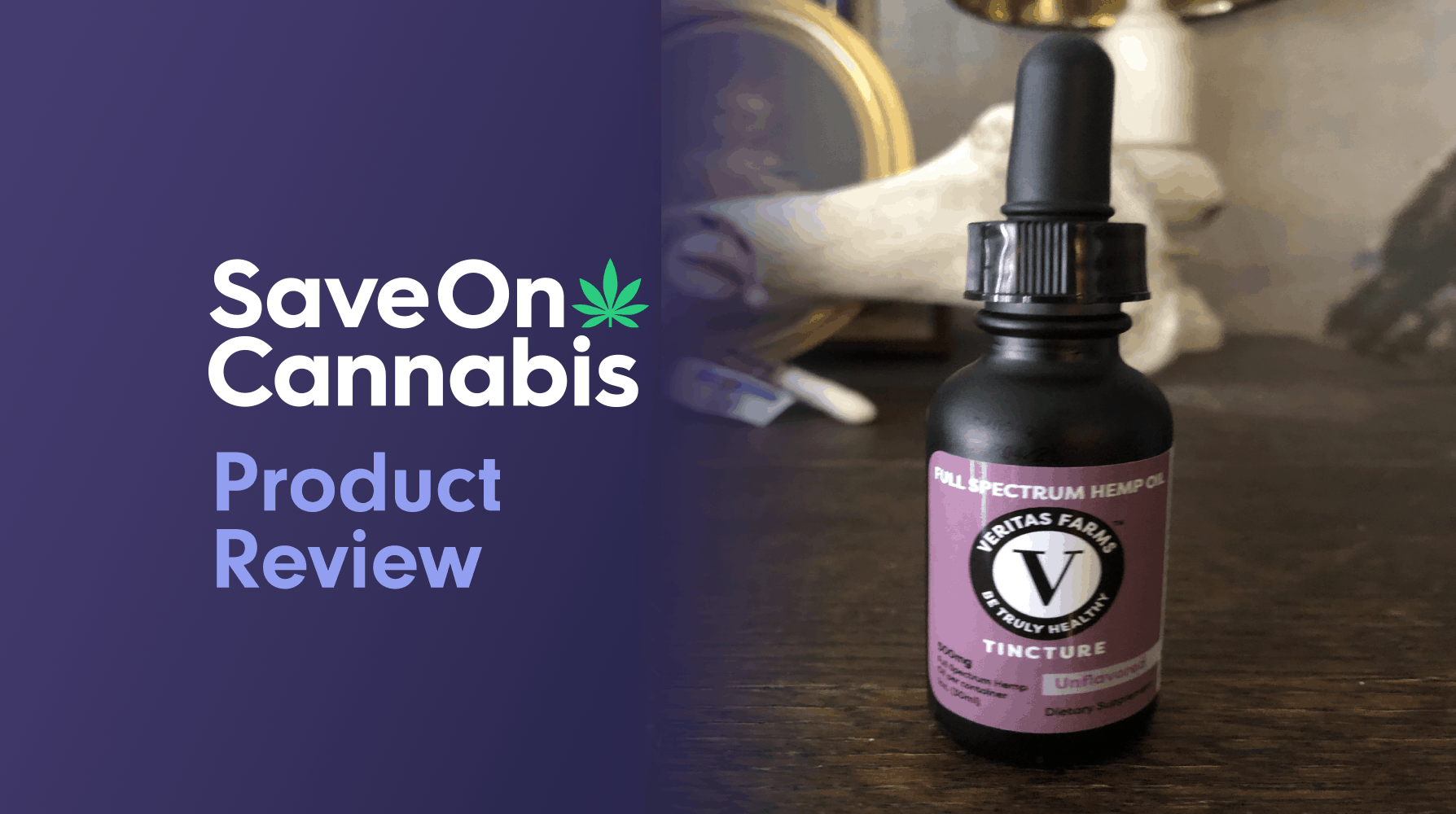 veritas farms 500 mg unflavored full spectrum cbd tincture review save on cannabis website