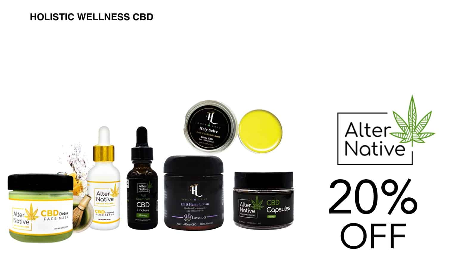 AlterNative CBD Coupon Code Offer Website