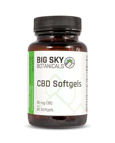 Big Sky Botanicals CBD Coupons Softgels