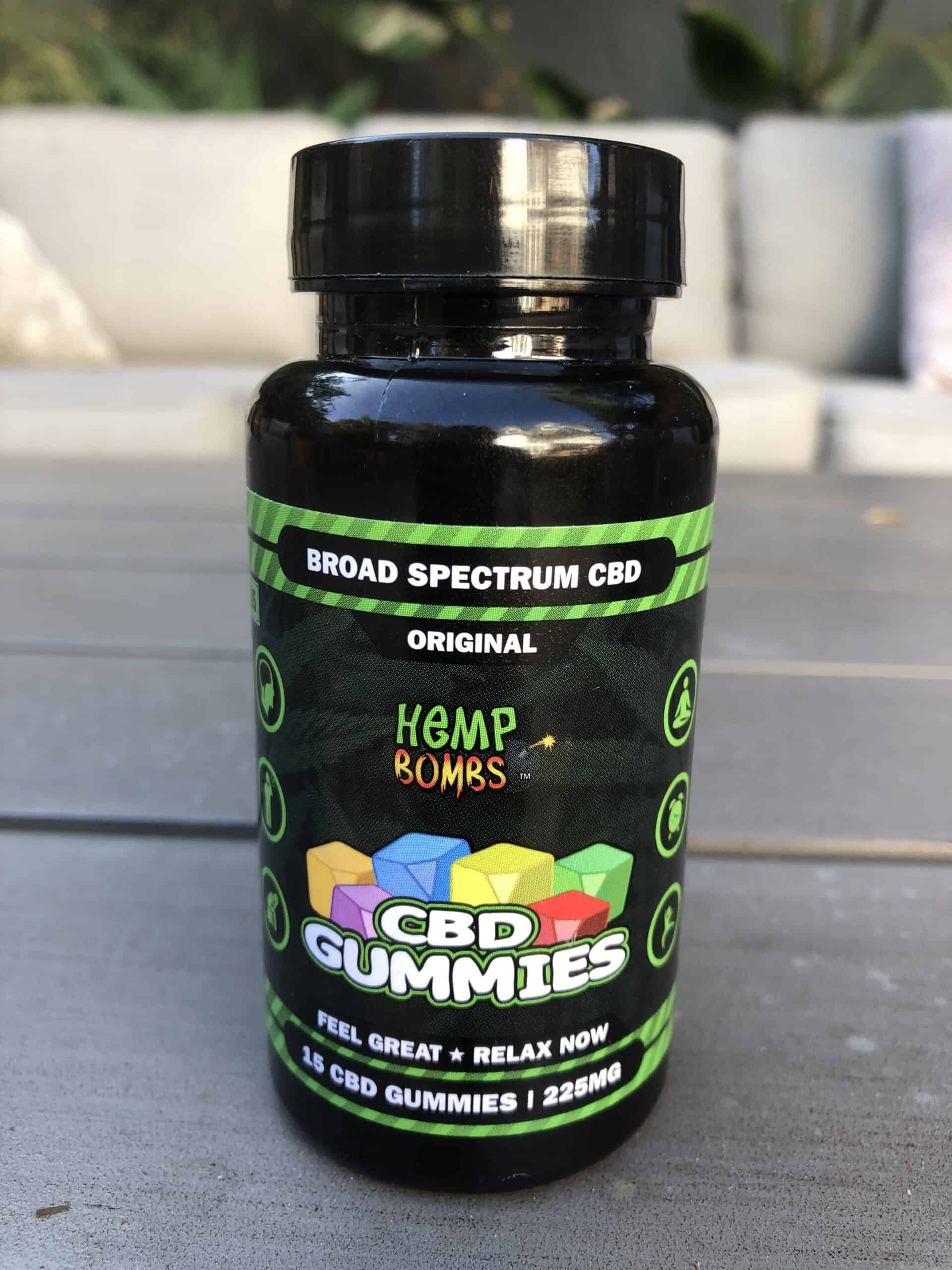 Hemp Bombs CBD Gummies 225mg (15mg Each)