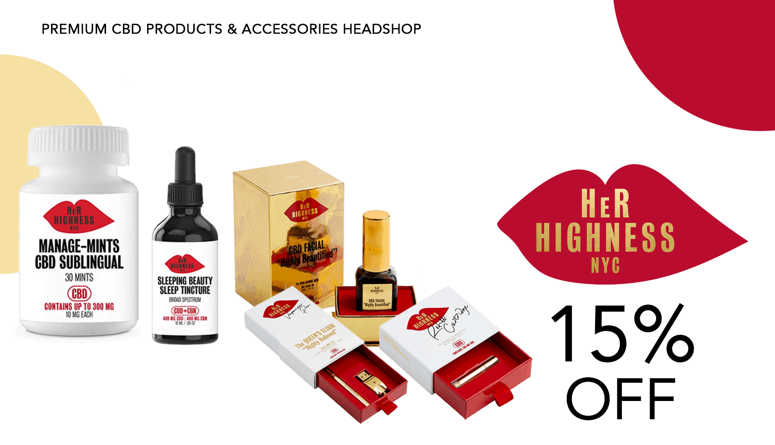 Her Highness CBD Coupon Code Offer Website