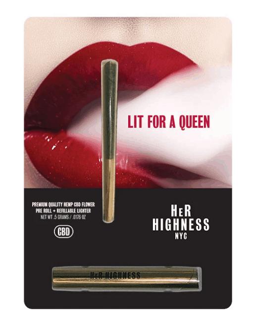 Her Highness CBD Coupons Roll Lighter