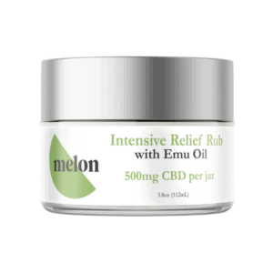 Melon CBD Coupon Code Intensive Relief Rub