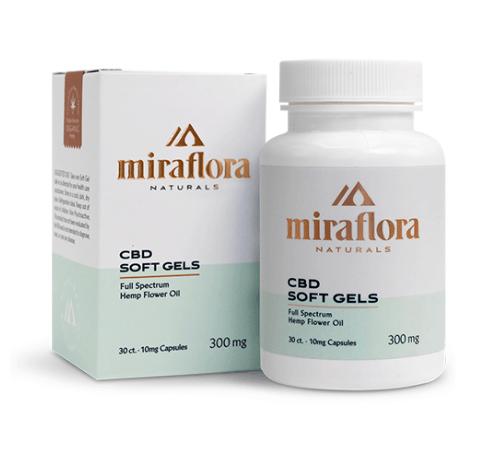 Miraflora Naturals CBD Coupons Softgel