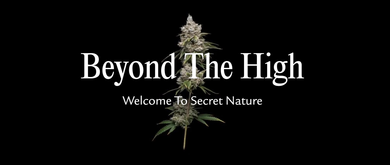 Secret Nature CBD Coupon Code Beyond High