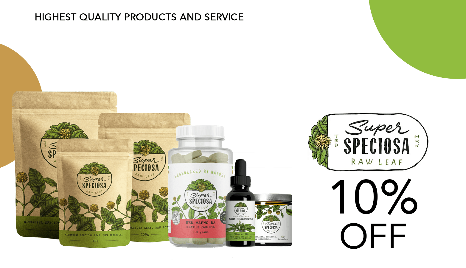 Super Speciosa CBD Coupon Code Offer Website