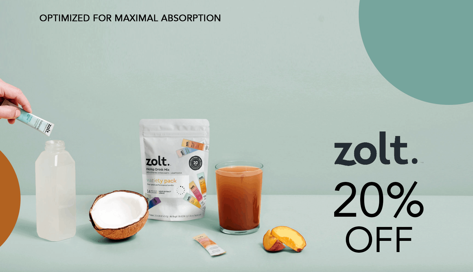 Zolt CBD Coupon Code Offer Website
