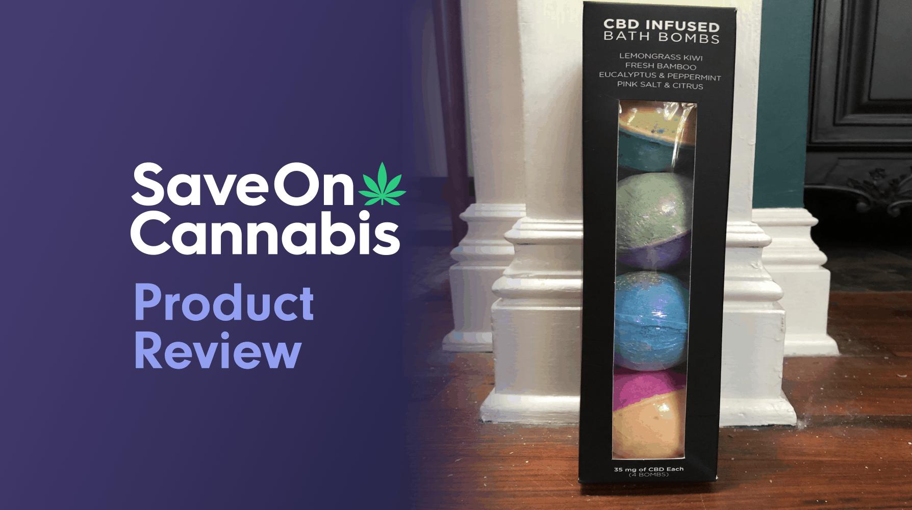 CBD FOR LIFE EUCALYPTUS & PEPPERMINT BATH BOMB Save On Cannabis Review Website