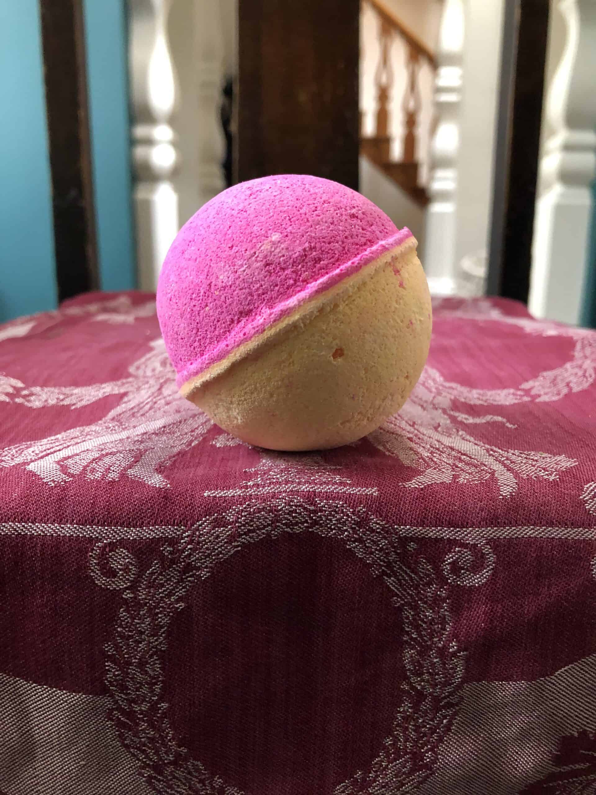 cbd for life pink salt and citrus bath bomb save on cannabis review testing process