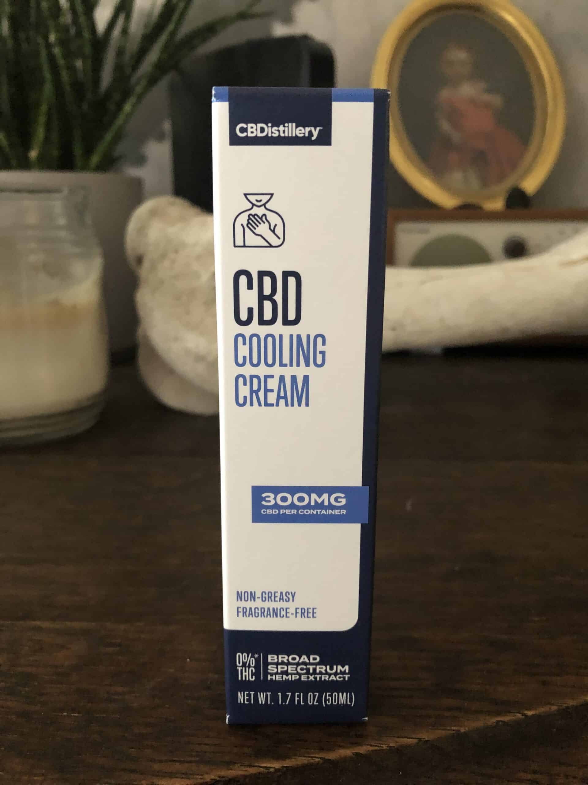 CBDistillery CBD Cooling Cream (300mg)