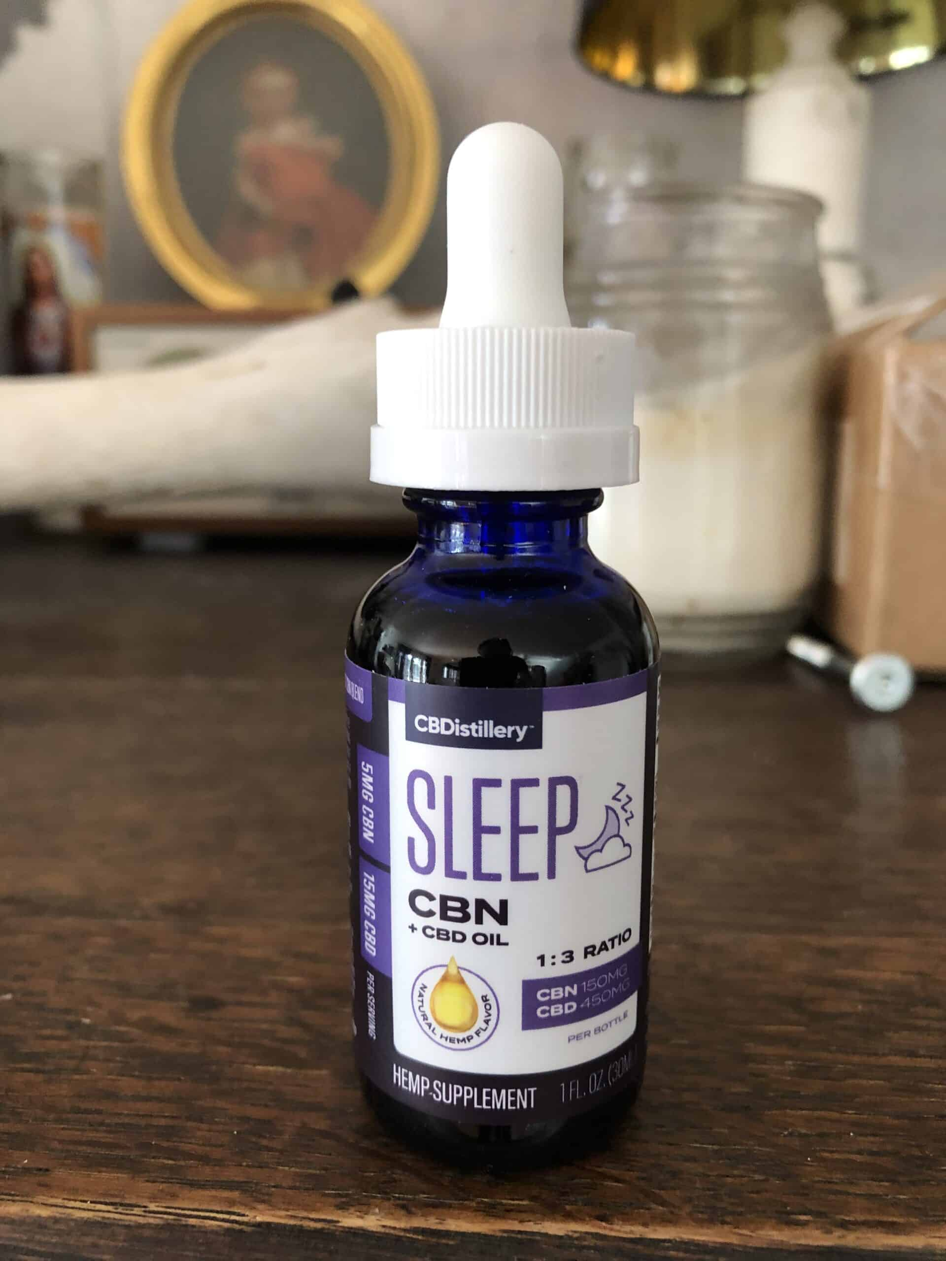 CBDISTILLERY CBN + CBD SLEEP TINCTURE 1:3 - 150mg CBN + 450mg CBD review beauty shot