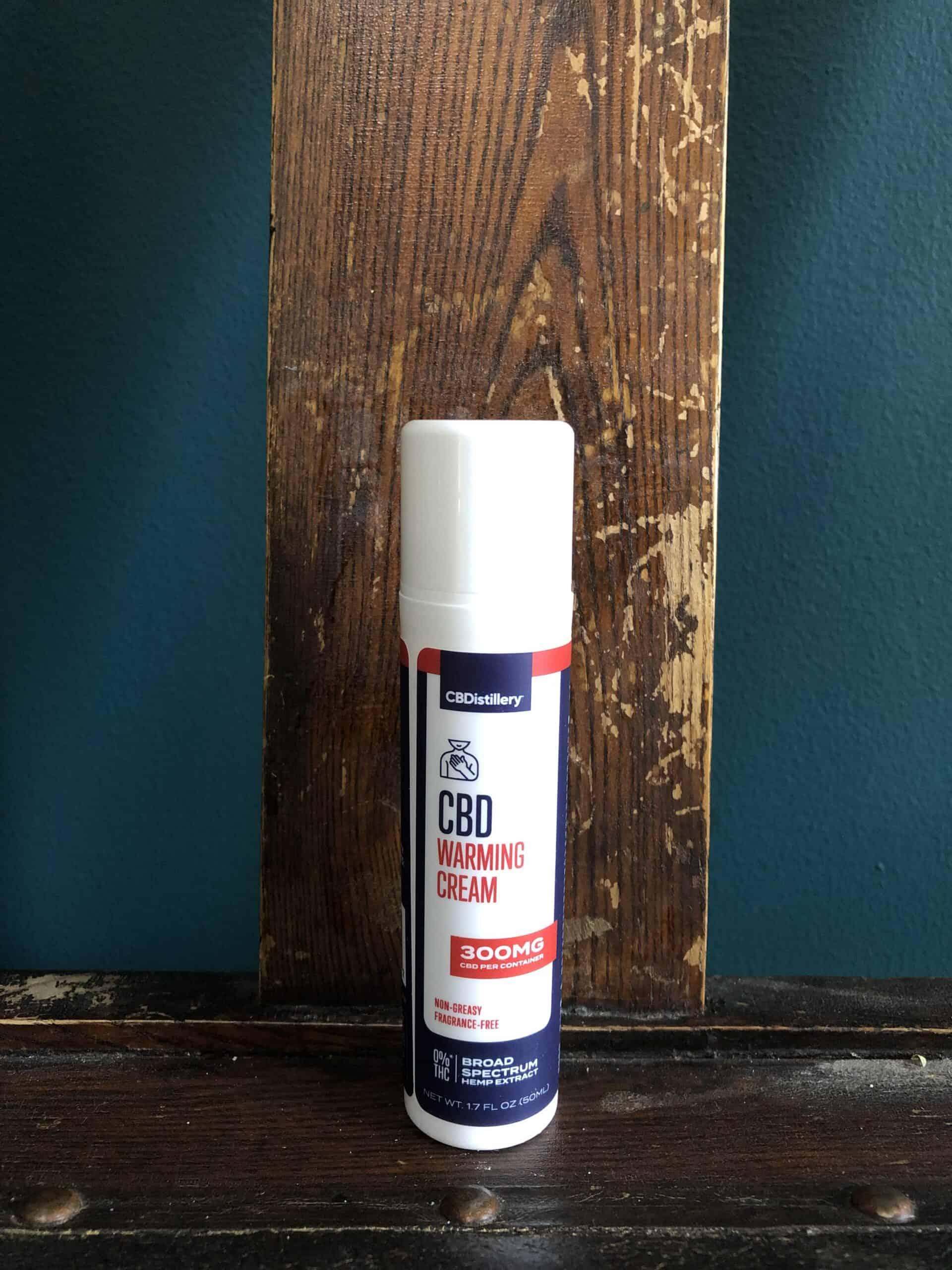 Cbdistillery Warming Cream Save On Cannabis Beauty Shot