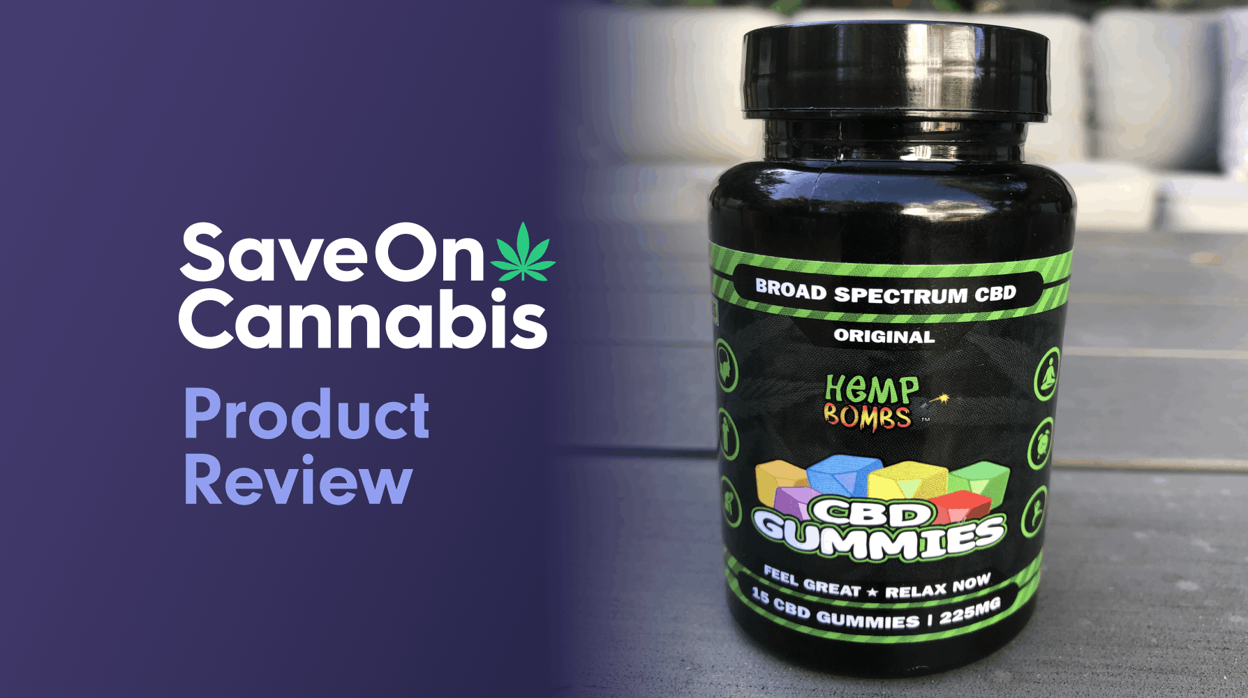 hemp bombs cbd gummies 15 mg save on cannabis review website